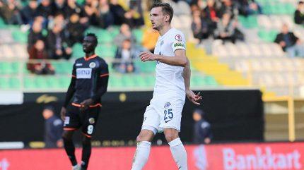 Břečka dal první gól za Kasimpasu a poprvé v turecké lize vyhrál