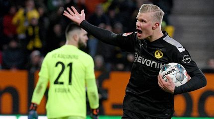 Zelenáč zničil hattrickem sen o odplatě a fanoušci Dortmundu šíleli
