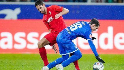 Koubek dostal dva góly, přesto vychytal Augsburgu další vítězství