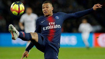 Mbappé byl vyhlášen nejlepším fotbalistou francouzské ligy