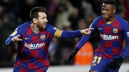Setién prožil s Barcelonou vítěznou premiéru, rozhodl Messi