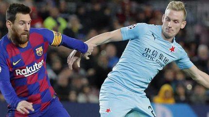 Z Camp Nou do reprezentace. Nováček je osmým slávistou pro Šilhavého