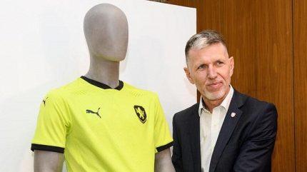 Legendy se bouří! Co jim vadí na nových dresech fotbalové reprezentace?