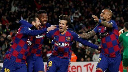 Barcelona rozhodla úchvatným gólem, Setién mluvil o pozoruhodném výkonu