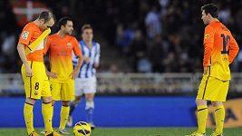 Barcelona prohrála s Realem Sociedad