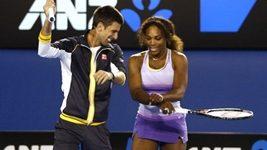 Djokovič a Serena Williamsová tančí Gangnam Style