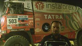 Lopraise zastavil na Dakaru defekt