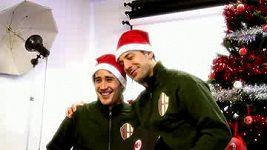 Vánoční hit Last Christmas v podání fotbalistů AC Milán