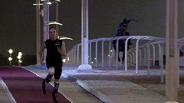 Oscar Pistorius vs kůň