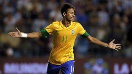 Nominovaná branka Neymara na Gól roku 2012