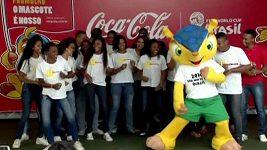 Brazílie představila maskota fotbalového MS 2014 Fuleca.