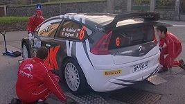 Robert Kubica se připravuje na Rally di Como.