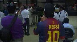 Messiho přílet do Saudské Arábie.