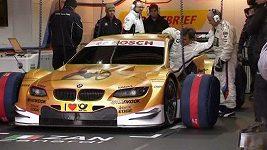 Alex Zanardi testoval nové BMW pro DTM