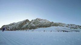 Soustředění běžců na Dachsteinu