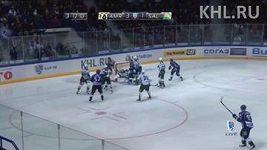 Nesprávně uznaný gól v zápase Chabarovsk - Ufa