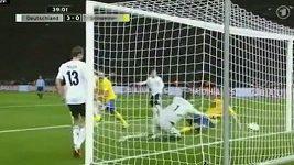 Sestřih gólů zápasu Německo - Švedsko