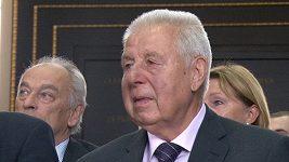 Josef Masopust byl jmenován čestným občanem Prahy