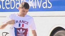 Cassias ve francouzském tričku