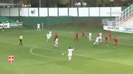 Kuriózní gól Srbů