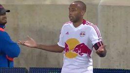 Thiery Henry zářil v zápase proti Torontu