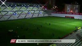 Sabotáž na stadiónu Vallecana