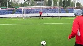 Parádní gól poslepu