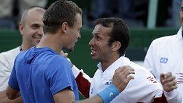 Tenisté slaví postup do finále Davisova poháru