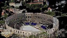 Hokejisté Záhřebu odehrají dva zápasy na amfiteátru starém přes 2000 let
