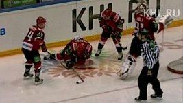 Zranění hráče v KHL