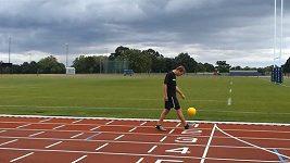 Matt Wolstenholme při světovém rekordu.