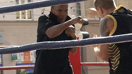Boxer Sugar navštívil Prahu