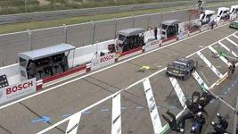 Nehoda Ralfa Schumachera v Zandvoortu.