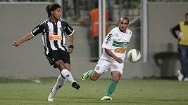 Ronaldinhovo parádní sólo v brazilské lize