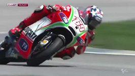Těžký pád Nickyho Haydena v kvalifikaci