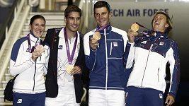 Návrat zlatých olympioniků z Londýna