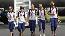 Návrat medalistů z Londýna