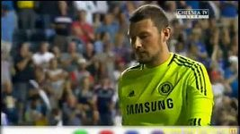 Johnsonův gól do sítě Chelsea.