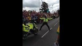 Tancující policajt