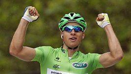Saganovy oslavy tří etapových výher na Tour de France