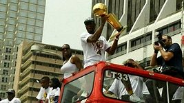Oslavy Miami Heat
