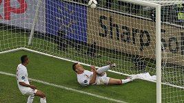 Neuznaný gól Ukrajiny v zápase proti Anglii