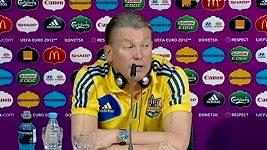 Rozzlobený trenér Blochin