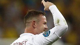 Rooney slaví gól