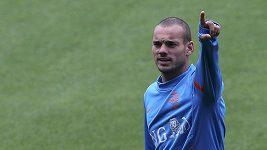 Parádní gól Sneijdera na tréninku