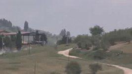 Hirvonenova havárie v Toskánsku