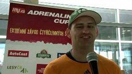 Nevidomý sportovec Jan Říha před Adrenalin cupem 2012.
