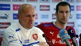 Rozhovor s trenérem Bílekem před zápasem s Maďarskem