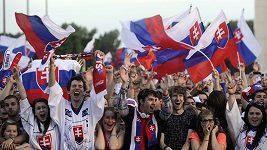Na náměstí oslavovali finálový gól Zdena Cháry