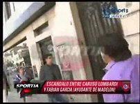 Caruso Lombardi se chtěl prát na ulici